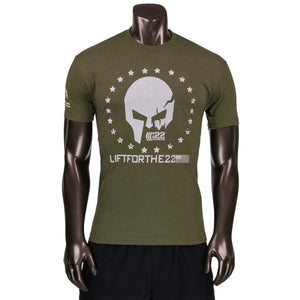 Lift For The 22 /22 Fitness Shirt