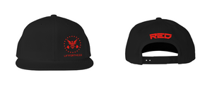 RED Edition DOD Flat Bill     Snap Back Hat