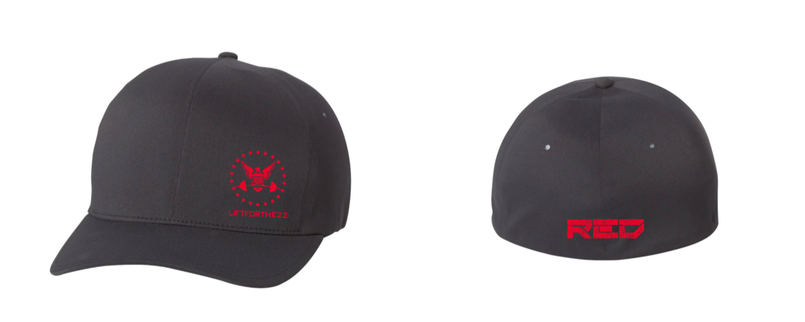 RED Pro Edition DOD Hat in black