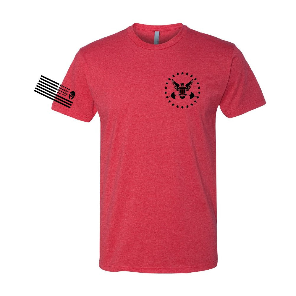 RED Edition T shirt --Red with black print