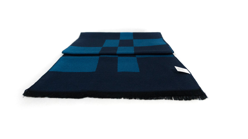 Royal Blue Bamboo Scarf