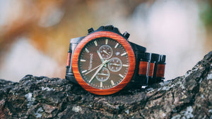 Walnut Wood Watch