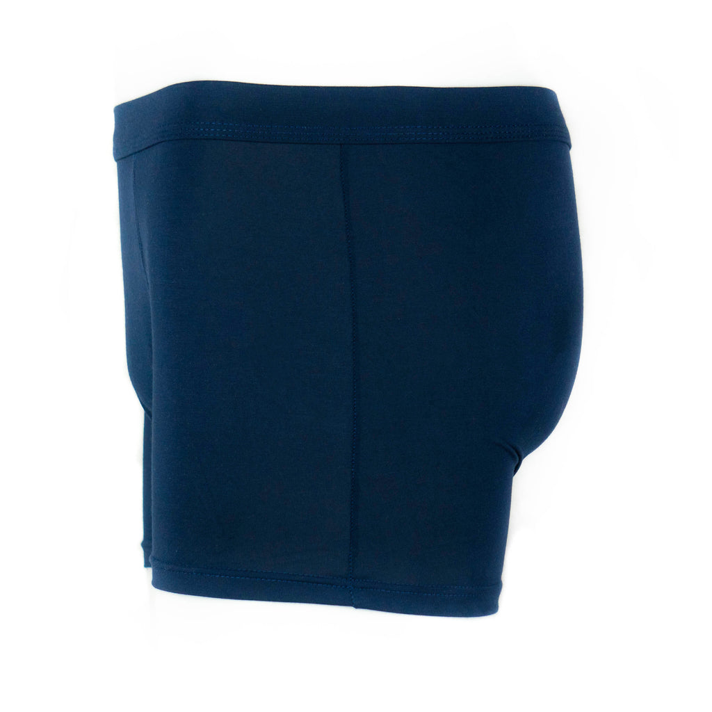 Navy Blue Bamboo Boxers