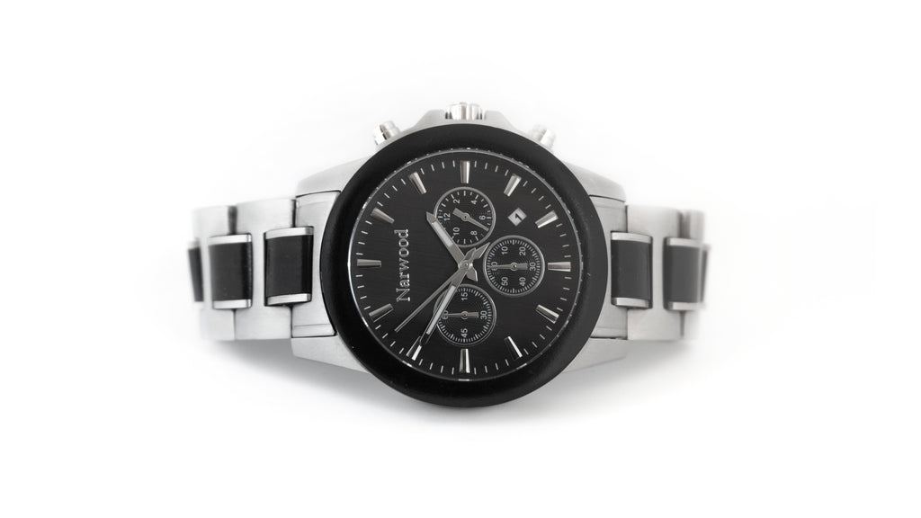 Charcoal Wood Watch