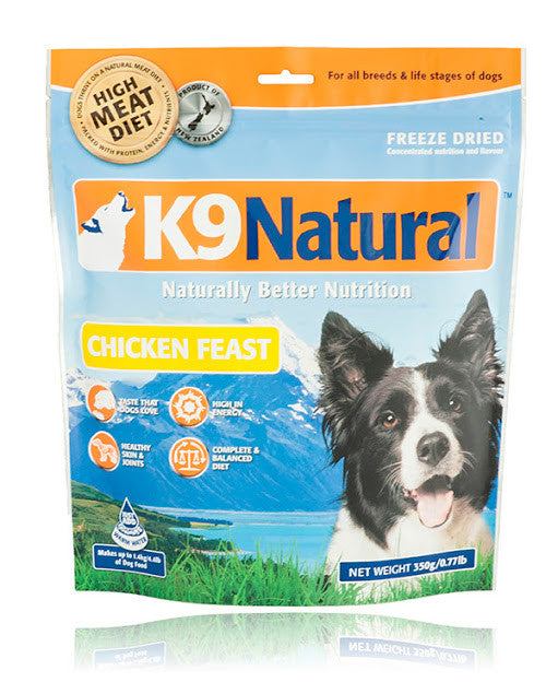 K9 Natural Freeze Dried Chicken Feast