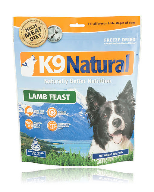 K9 Natural Freeze Dried Lamb Feast (small size)