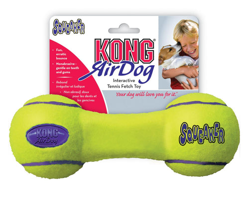 KONG® Air Dog Squeaking Dumbbell