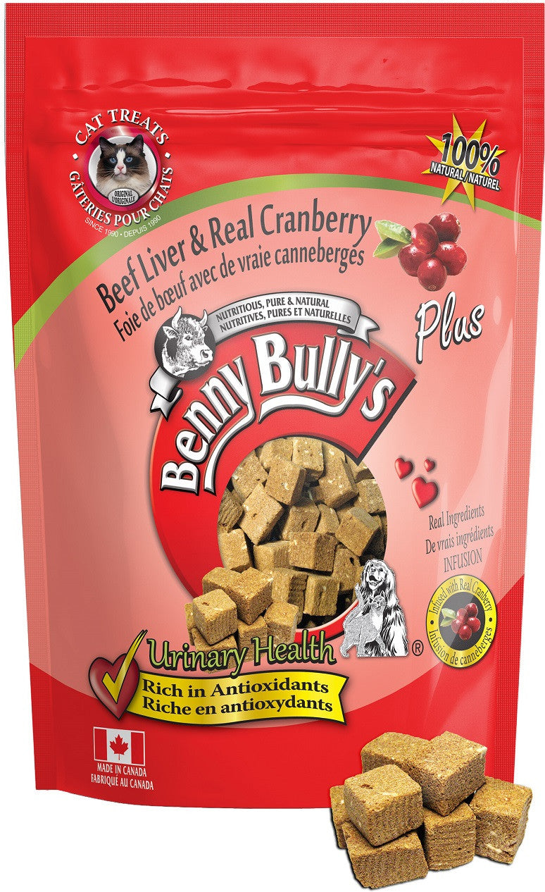 Benny Bully's® Plus™ Beef liver & real cranberr