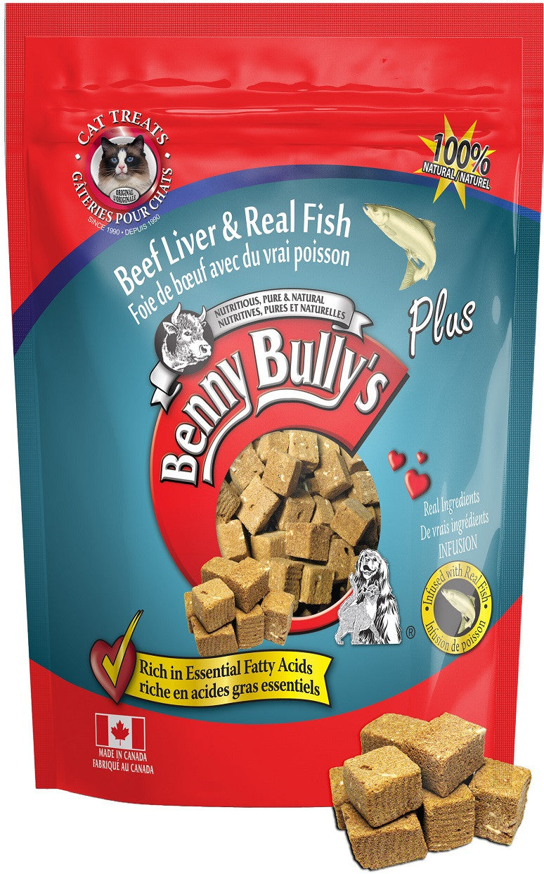 Benny Bully's® Plus™ Beef liver & real fish