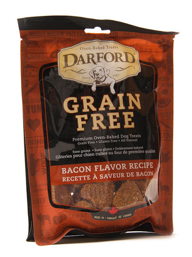 Darford grain free dog treats - bacon flavor recipe