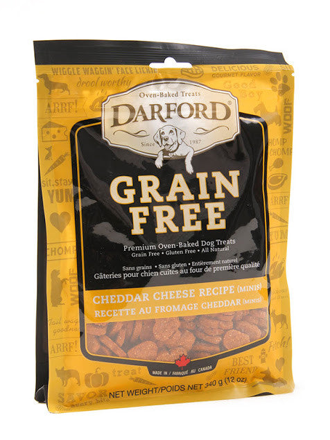 Darford grain free dog treats - cheddar cheese recipe (minis)