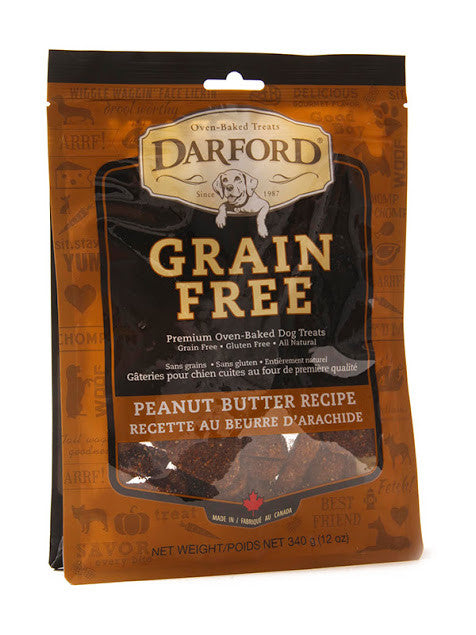Darford grain free dog treats - peanut butter recipe