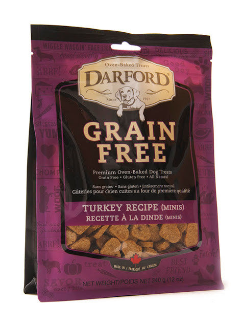 Darford grain free dog treats - turkey recipe (minis)