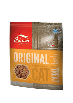 Orijen freeze dried cat treats original, friandises déshydratées à froid pour chat Orijen original