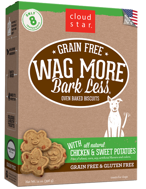 Cloud Star Wag More Bark Less Oven-Baked Grain Free: Chicken & sweet potatoes