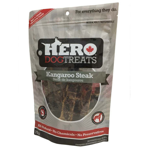 Hero Dog Treats Steak de Kangourou