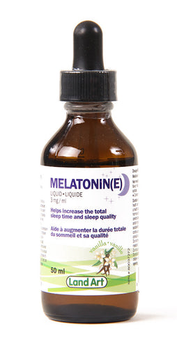 Liquid melatonin, mélatonine liquide