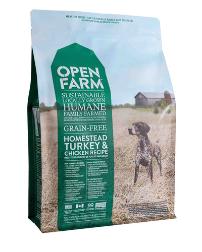 Open Farm Dinde et poulet, chicken and turkey, kibble, moulée