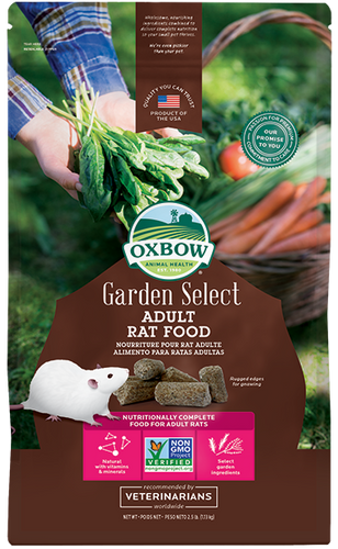 Nourriture Garden Select pour rat adulte