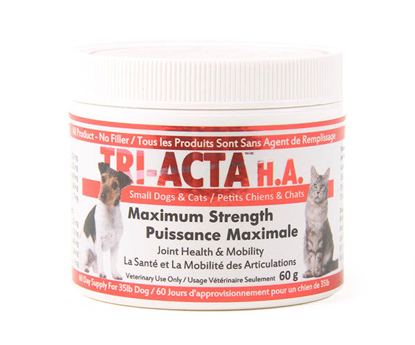 Tri-Acta H.A. dog supplement for joint health and mobility maximum strenght
