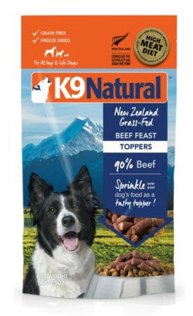 K9 Natural Beef Freast Topper