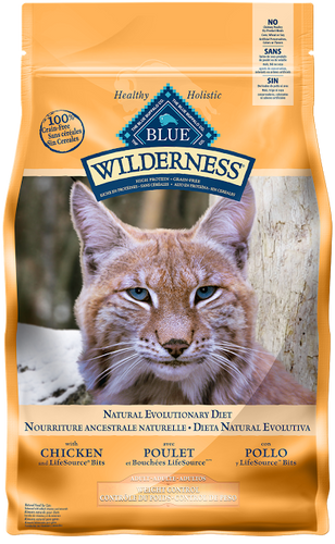 BLUE Wilderness® high protein & grain free cat food - Weight control chicken recipe