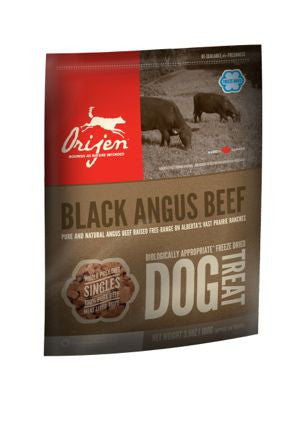 Orijen freeze dried treats for dogs angus beef, biscuits déshydratés à froid orijen boeuf angus