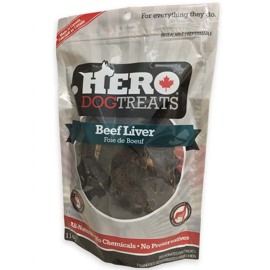 Hero Dog Treats Foie de Boeuf