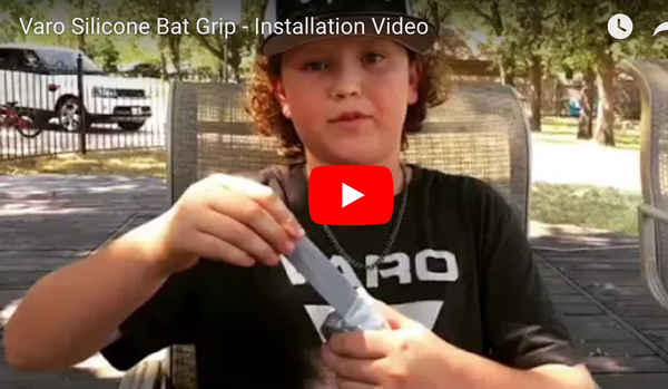 Varo Silicone Bat Grip - Installation Video