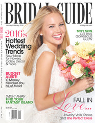 Genevieve Rose Bridal in Bridal Guide January 2016