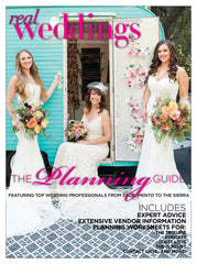 Genevieve Rose Bridal on the cover of Real Weddings Planning Guide Spring 2017