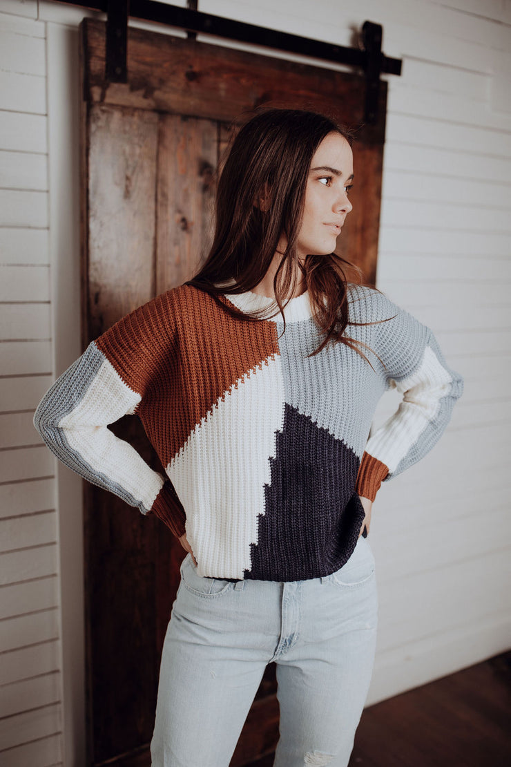 Stevie Colorblock Sweater