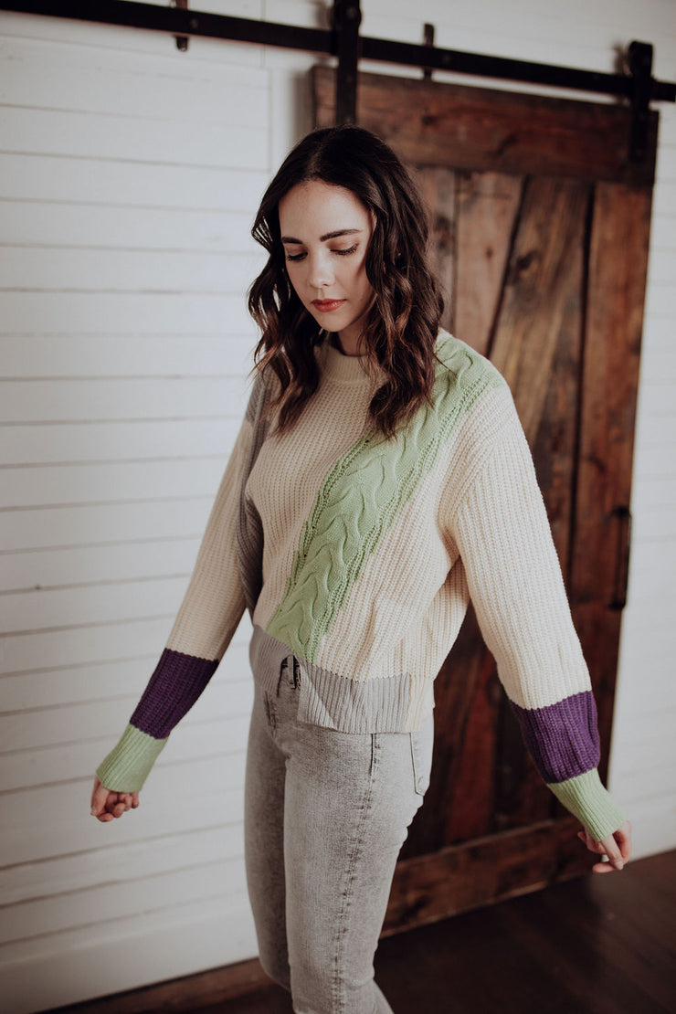 Keely Colorblock Sweater