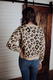 Lemon Leopard Sweater