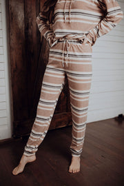 Brees Striped Lounge Bottoms