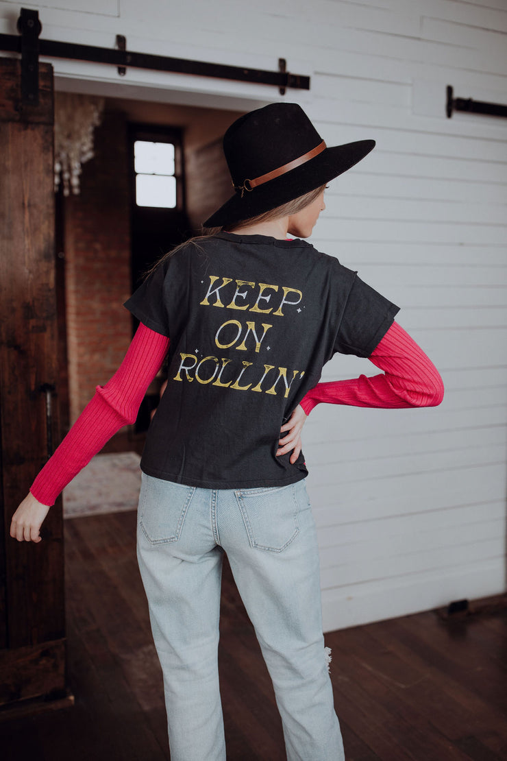 Daydreamer Keep on Rollin' Tee