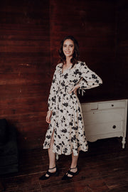 Natalie Floral Button Dress