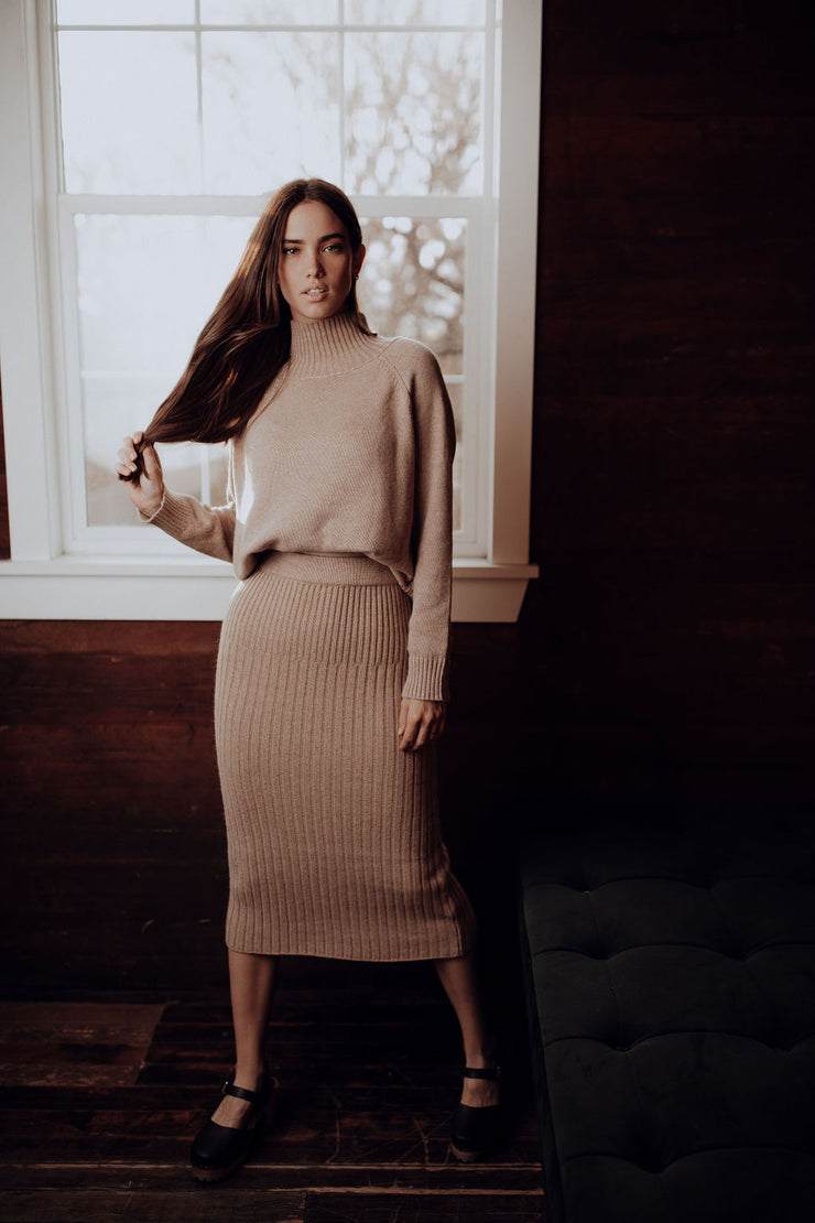 Margaret Sweater Skirt Set