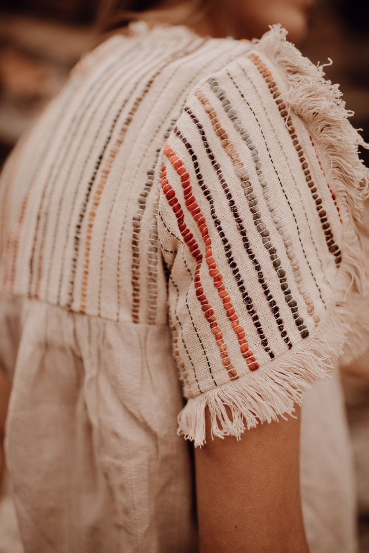 Textured Stripe Blouse
