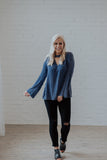 Lottie Blue Blouse