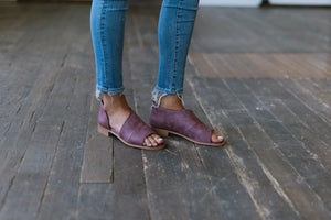 harley bootie in purple emma lou