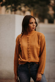 Evony Mustard Sweater