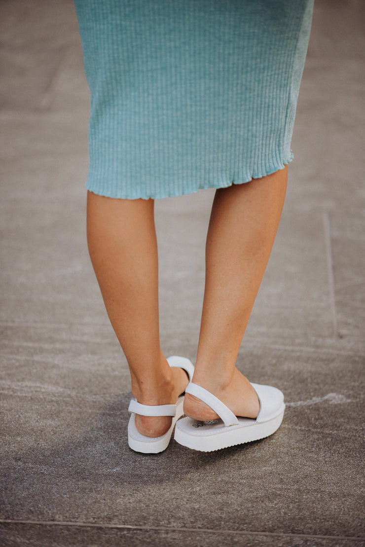 Solillas Flatform in White
