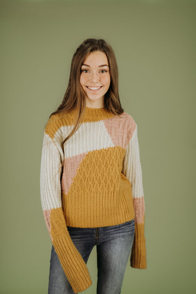 Cleveland Block Sweater