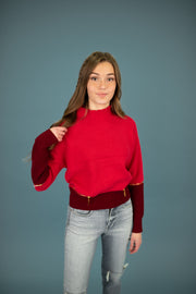 Oriana Zipper Sweater