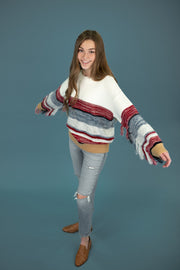 Alanis Fringe Sweater