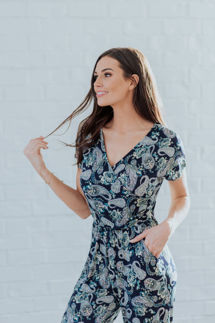 Polly Paisley Romper
