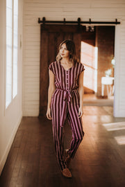 Wren Striped Jumpsuit