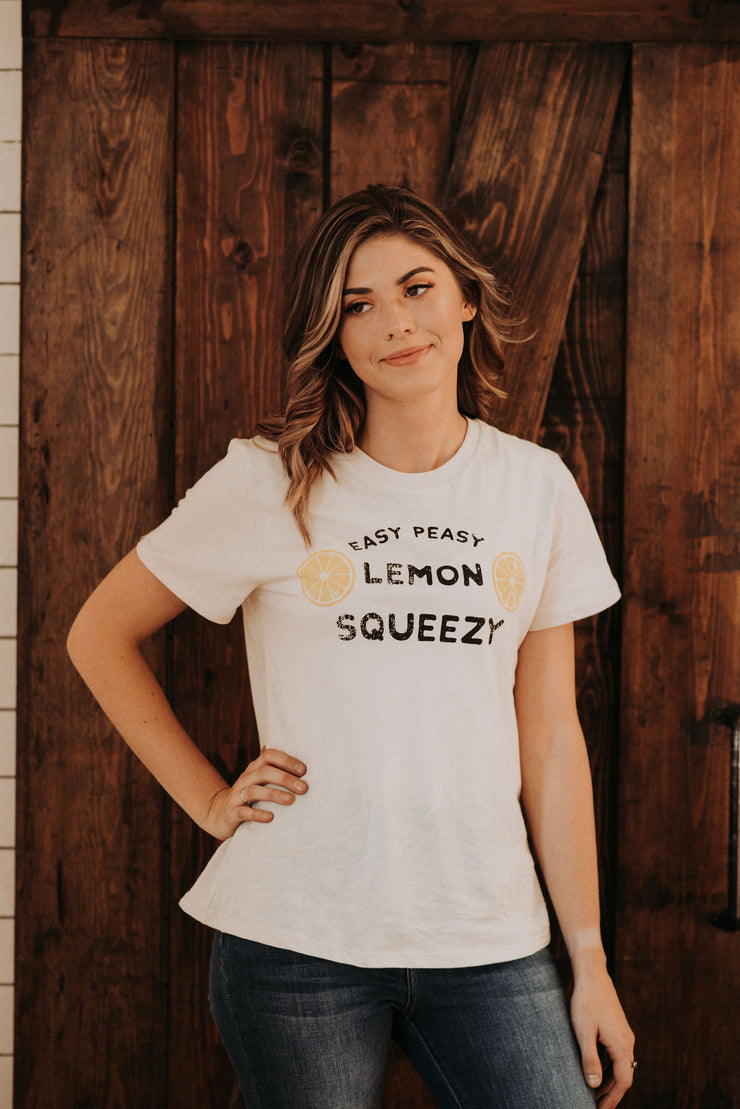 Lemon Squeezy Tee