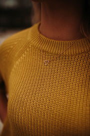 Mustard Tunic Sweater